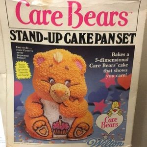 Vintage Stand-Up Care Bears Cake Pan